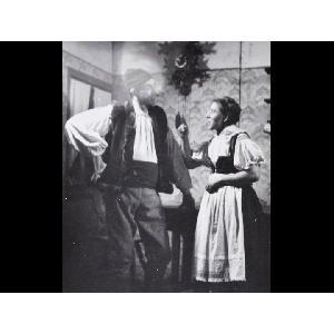 Historické fotky - ochotníci - Hra Selská láska