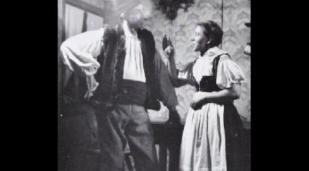 Historické fotky - ochotníci - Hra Selská láska0