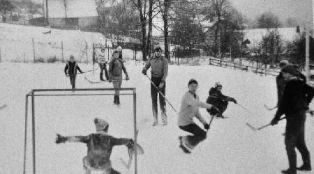 Historické fotky - sport - hokej1