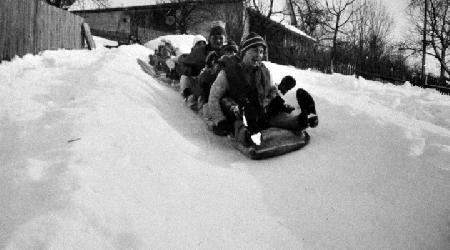 Historické fotky - sport - Pytlácké závody